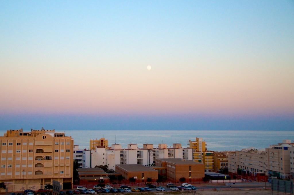 Fullmåne i El Campello